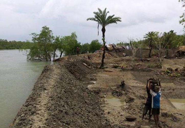 La erosión y el cambio climático la borrarían en 2010 de los mapas para siempre a la isla de New Moore. (makewealthhistory.org)