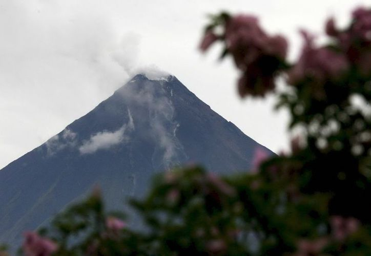 De producirse una erupción mayor del Copaue los flujos podrían extender sus efectos en un radio de 25 kilómetros. (EFE/Archivo)