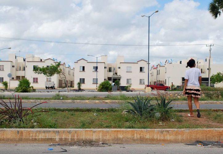 Critican la construcción de viviendas de menos de 44 metros cuadrados. (Tomás Álvarez/SIPSE)