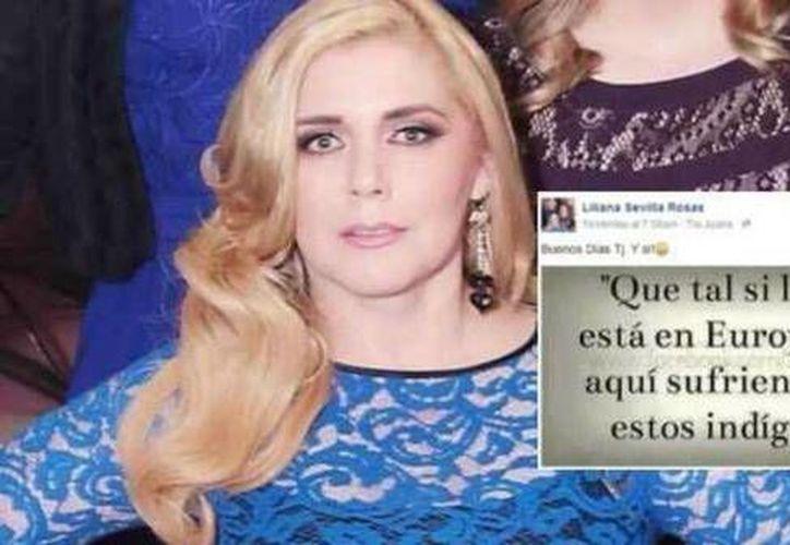 """Liliana Sevilla Rosas justificó que """"simplemente es un post como miles que se publican"""". (actualidad.rt.com)"""