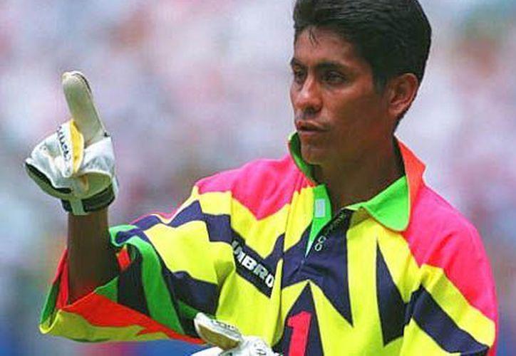 Jorge Campos Navarrete se ubicó en el sitio 26 de la lista de la IFFHS. (Notimex)