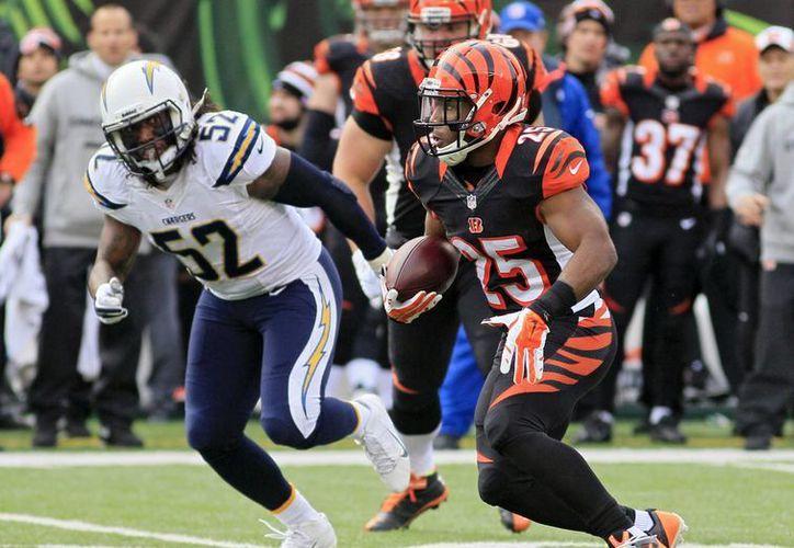 Tras perder con los Chargers, los Bengals suman ahora la sexta cadena más larga de fracasos en playoffs en la historia de la NFL. (Agencias)