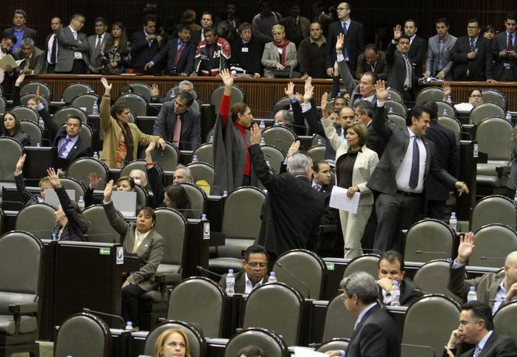 La iniciativa será presentada ante el pleno de la Cámara de Diputados. (Agencias)