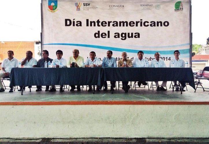 En la conmemoración del Día Interamericano del Agua se recordó la importancia de cuidar el agua abundante de la que dispone Yucatán. (SIPSE)