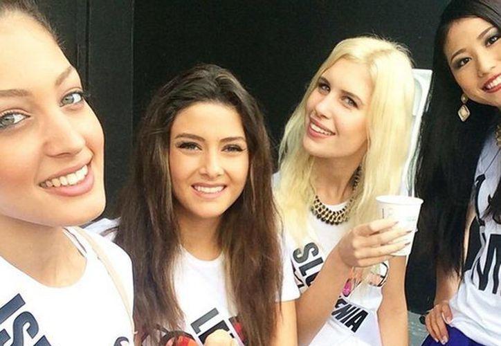 Una imagen en la que aparece Miss Líbano tomada por Miss Israel genera polémica por el conflicto entre Israel y parte del mundo árabe. (Instagram doronmatalon)