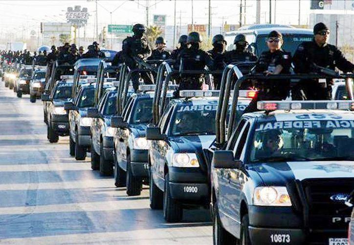 Los efectivos federales que llegaron a Michoacán serán apoyados por las fuerzas estatales y municipales. (Archivo/SIPSE)