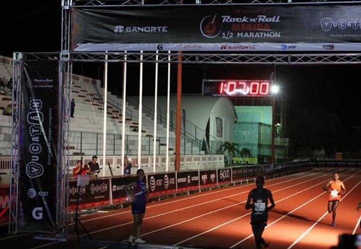 La del 2017 será la III edición del medio maratón y los 10 kilómetros del Rock'n'Roll Mérida 2017. (Archivo/SIPSE)