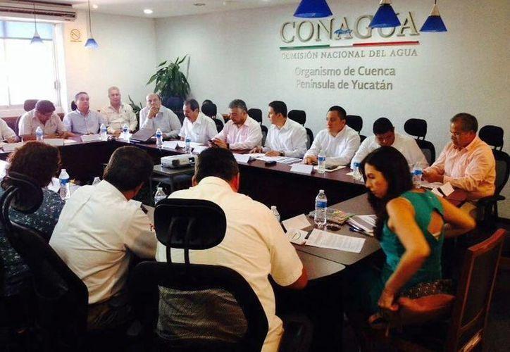 El encuentro de delegados federales con el coordinador de la Segob fue en la Conagua. (Milenio Novedades)