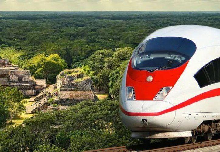 Se busca que el tren maya ya opere en 2023. (Foto: contexto Internet)