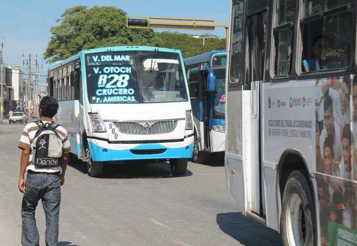Camiones de Turicun ocupan segundo lugar en accidentes. (Ricardo Villaseñor/SIPSE)