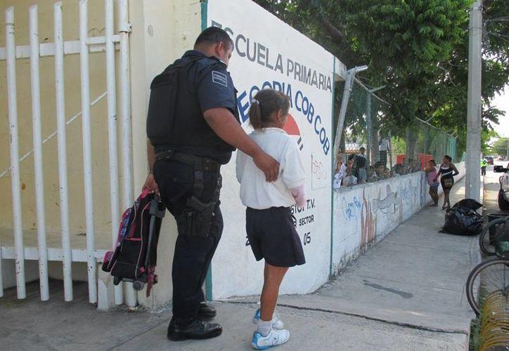 Una estudiante de 8 años reconoció que su mamá la maltrataba, pero debido a que no se interpuso una denuncia ante el Ministerio Público, el DIF se deslindó del caso. (Redacción/SIPSE)