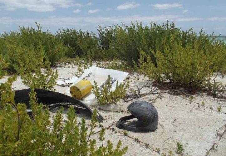 Entre las acciones programadas se encuentra el escobillado en las áreas públicas costeras. (Cortesía/SIPSE)