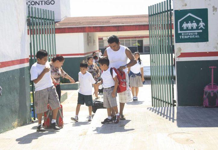 Las escuelas que laboraron lo hicieron por común acuerdo con los padres de familia. (Archivo/SIPSE)