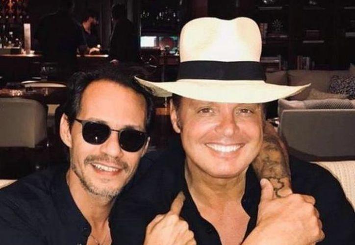 Marc Anthony y Luis Miguel aparecieron juntos en Instagram. (Foto: Instagram)