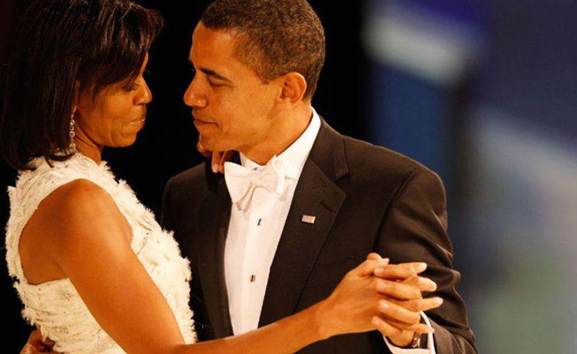 Barak Obama tuiteó un emotivo mensaje para su esposa, Michelle Obama, por su cumpleaños. (Twitter)