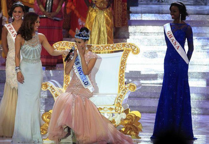 Megan Young, de Miss Filipinas 'brincó' a Miss Mundo 2013. (Agencias)