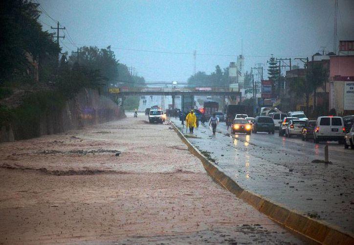 Los estados del Pacifíco, principalmente Michoacán, Jalisco, Guerrero y Colima, están en riesgo por la eventual formación de un ciclón tropical. (Archivo/Notimex)