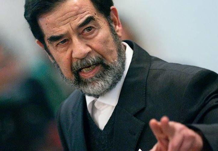 Un exagente de la CIA cree que Saddam Hussein habría impedido el surgimiento del Estado Islámico. (Archivo/Reuters)