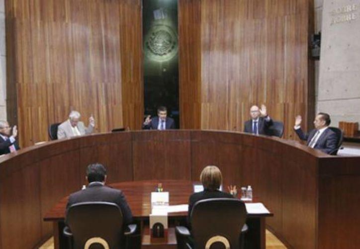 Los magistrados del Tepjf votaron a favor de la nulidad de la elección de los integrantes del Ayuntamiento de Sahuayo, Michoacán. (trife.gob.mx)