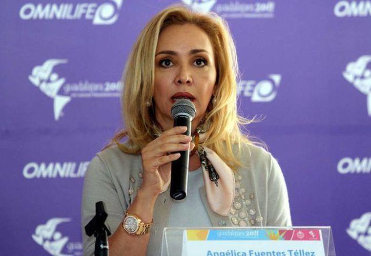 Angélica Fuentes es señalada por el exdirectivo de Chivas, Juan José Frangie, como una de las mayores responsables en el hundimiento deportivo del Rebaño Sagrado. (noticiasnet.mx)