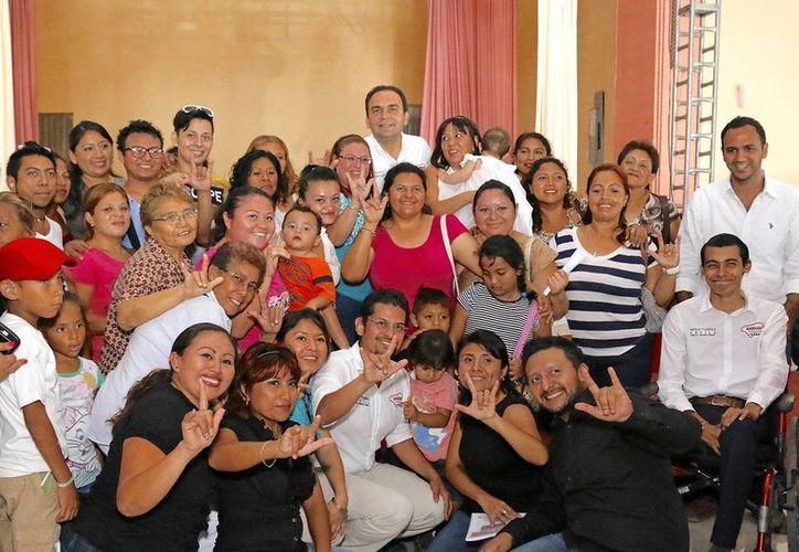 El candidato a la Alcaldía, Nerio Torres, señaló que promoverá acciones para la igualdad de condiciones. (Milenio Novedades)