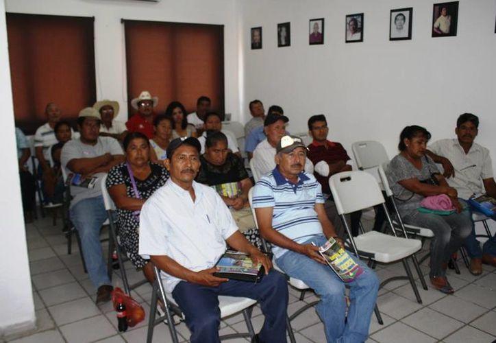 Campesinos de la zona sur piden la intervención del gobierno del Estado. (Edgardo Rodríguez/SIPSE)