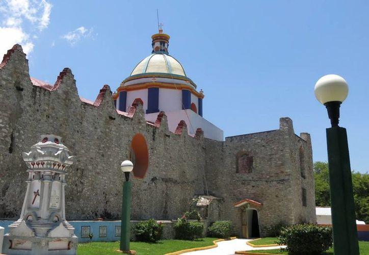 El Templo de Santa Ana (del siglo XVIII), figura entre los monumentos que serán atendidos por especialistas del INAH, tras el sismo registrado el pasado 16 de junio. (Notimex)