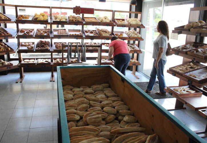 Aun cuando se reportan buena demanda del producto, las ganancias de las panaderías han ido a la baja desde 2016. (Joel Zamora/SIPSE)