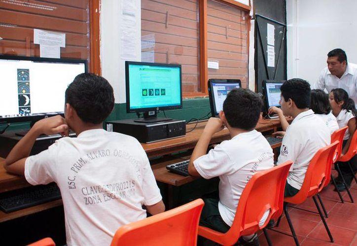 El programa dará a los menores herramientas básicas es la utilización de los medios digitales.(Eddy Bonilla/SIPSE)