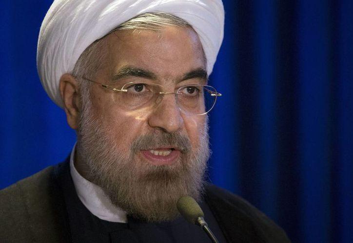 Ruhani busca aliviar las sanciones económicas de EU sobre Irán. (Agencias)
