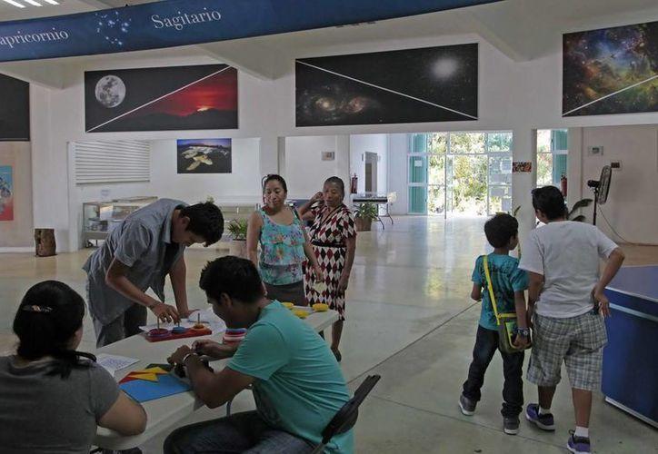 Durante las vacaciones de Semana Santa el Planetario de Cancún realizará un curso de primavera para niños. (Cortesía)