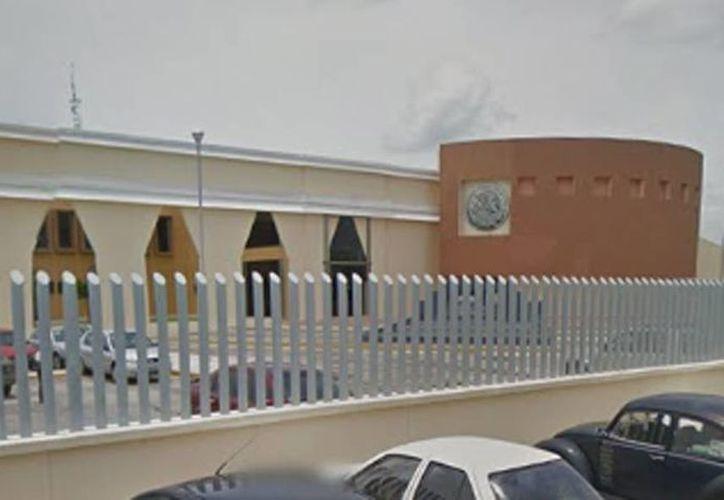 El evento se realizó en el edificio de la PGR en Yucatán, ubicada en el Complejo de Seguridad, en Periférico Poniente a la altura del tramo carretero Susulá-Umán. (Milenio Novedades)