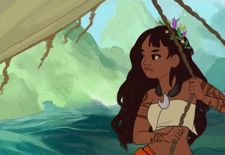 Moana ya es la nueva princesa de Disney. La película sobre la joven polinesia se estrenará el año próximo. (allaccessmex.com)
