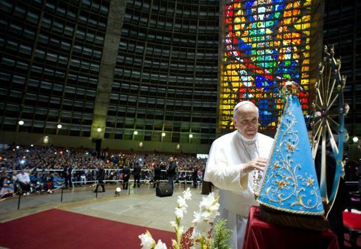 El Papa Francisco cumple cuatro años de pontificado, este lunes. (Notimex)