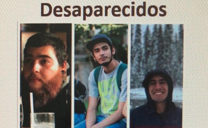 Existe una persona detenida y se le investiga por su posible participación en la desaparición de Salomón, Marco y Daniel. (MVS)