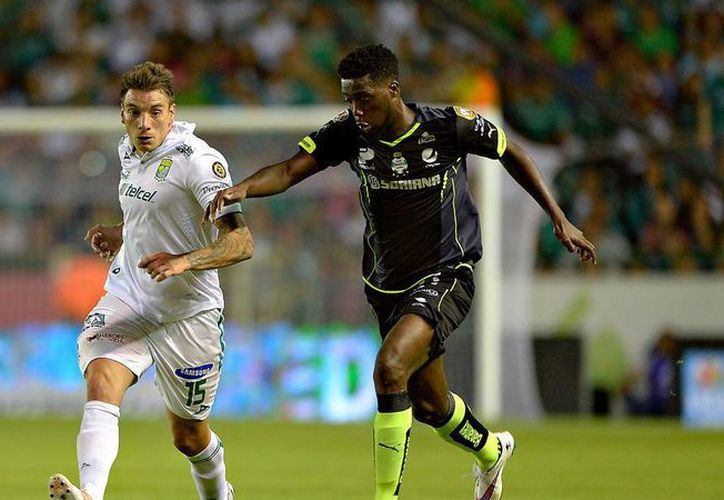 Santos y León cierran este domingo la jornada siete del futbol mexicano en punto de las 18:00. (Archivo/ Mexsport)