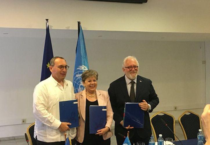 Alicia Bárcena asumió como Secretaria Ejecutiva de la Comisión Económica para América Latina y el Caribe (CEPAL) . (Internet)