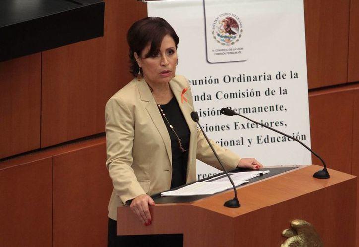 La secretaria de Desarrollo Social afirma que todos los mexicanos deben ejercer los derechos económicos y sociales que consagra la Carta Magna. (Notimex)