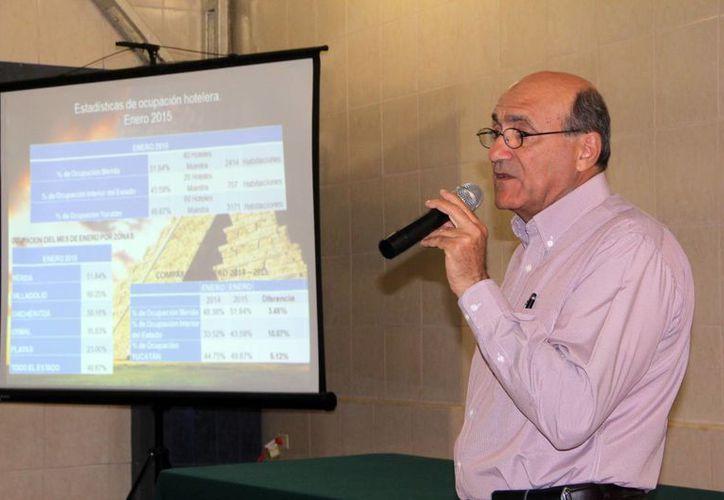 Ricardo Dájer, dirigente de  la Cámara Mexicana de Hoteles en Yucatán, declaró que la ocupación hotelera tuvo un crecimiento de más del 4 % en los tres últimos años. (SIPSE)
