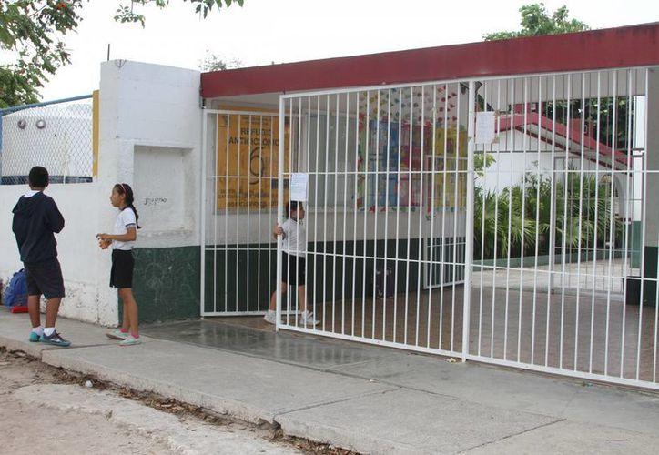 Se han cerrado cinco escuelas por reducción de matrícula. (Victoria González/SIPSE)