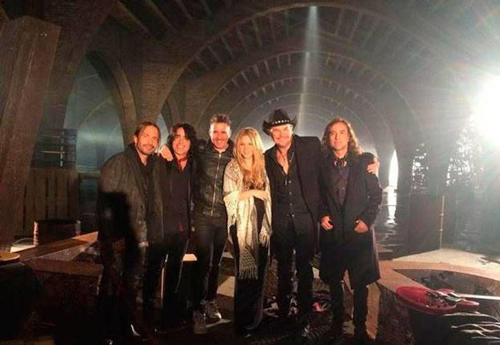 El grupo Maná lanzó este lunes su canción 'Mi verdad', a dueto con Shakira. (mana.com.mx)
