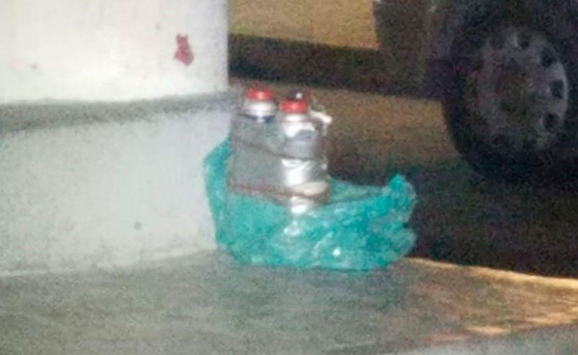 El artefacto se encontró en la Supermanzana 20, sobre la avenida Xcaret esquina con calle Reno. (Redacción/SIPSE)