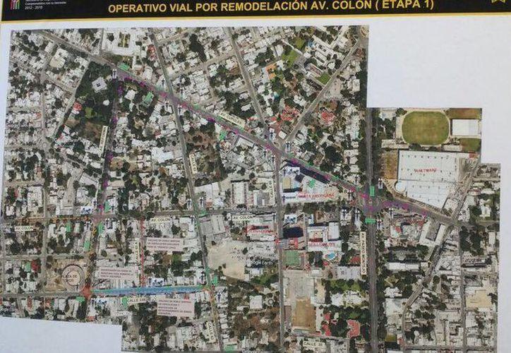 El gobernador Rolando Zapata estará este domingo en la Avenida Colón por el inicio de trabajos de modernización vial de la zona. (SIPSE)
