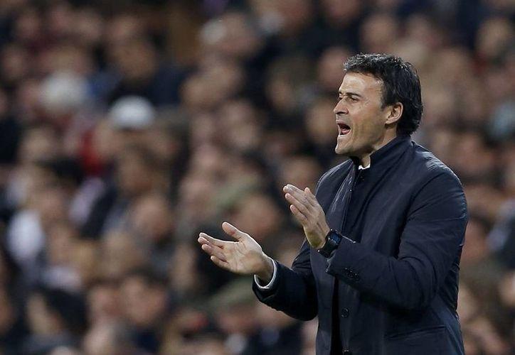 Luis Enrique se formó como jugador en el Barcelona. Ya como entrenador ha trabajado en la Roma y el Celta de Vigo. (EFE)