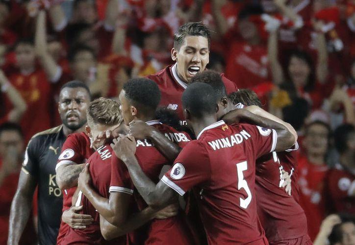 Liverpool ganó en la semifinal al Crystal Palace por 2-0.  (Foto: AP)