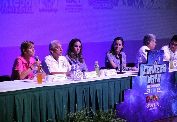 La carrera Maya Nocturna de 10 y 21 kilómetros arrancará a las 19:00 horas del 22 de octubre en el Gran Museo del Mundo Maya. (José Acosta/Milenio Novedades)