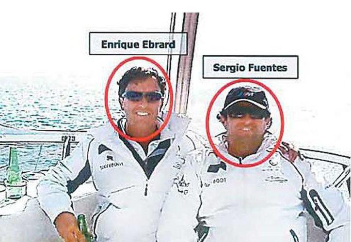 Enrique Ebrard, hermano del ex jefe del GDF, con sus socios de la empresa inmobiliaria Residencial Mexicali SA de CV. (Milenio)