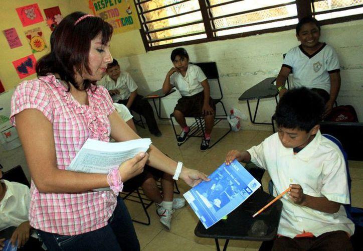 Alumnos de primarias también sustentarán la prueba Enlace pero hasta junio. (SIPSE)