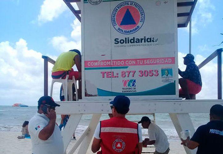 En la restauración de las torres se invertirán poco más de 90 mil pesos. (Daniel Pacheco/SIPSE)