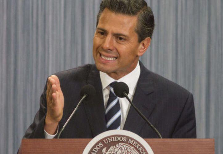 Enrique Peña Nieto, presidente de México reconoció que estas medidas despertaron el interés de organizaciones de derechos humanos. (SIPSE)